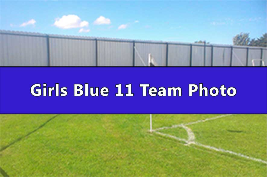 Runcorn Linnets Junior Football Girls Blue Under 11s Team Photo