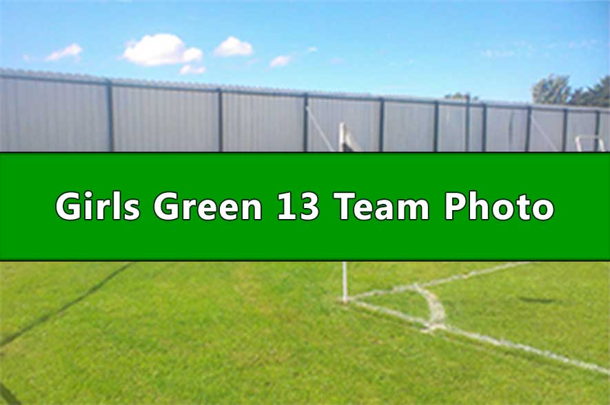 Runcorn Linnets Junior Football Girls Green Under 13s Team Photo