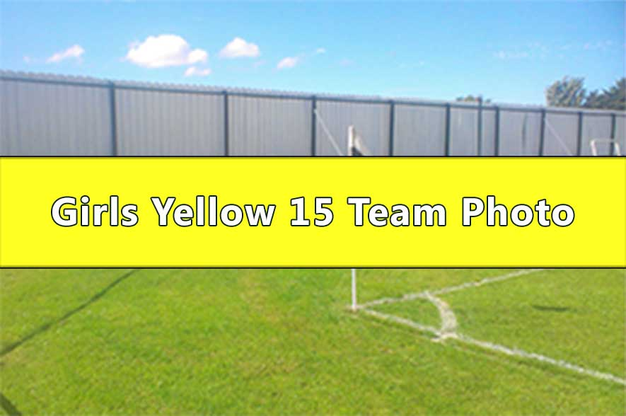 Runcorn Linnets Junior Football Girls Yellow Under 15s Team Photo