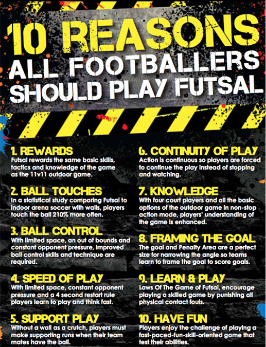 Futsal at the Runcorn Linnets Junior Football Club
