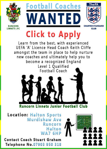 Halton Sports Football Coach Training aKidamey Coaches Wanted