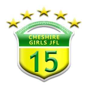 Runcorn Linnets Junior Football Girls Yellow Under 15s Team Badge