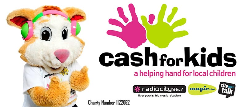 Cash for Kids Helping Hands Charity