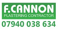F Cannon Plastering Contractor sponsors Runcorn Linnets JFC