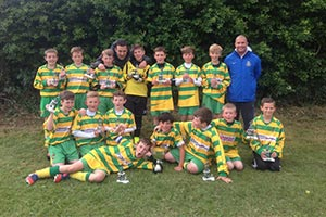 Under 11s win both Cup and Plate at Blacon