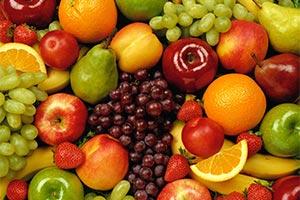 Footballers eat healthy fruit