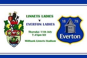 Everton Ladies FC Versus Runcorn Linnets Ladies FC