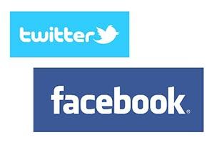Facebook and Twitter - Social media