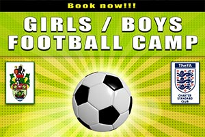 Junior Football Camp at Halton Sports in Runcorn