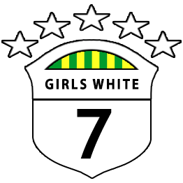 Girls U7 White