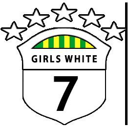 Girls U7 White