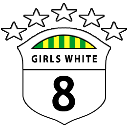 Girls U8 White