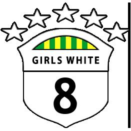 Girls U8 White