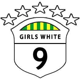 Girls U9 White