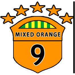 Boys U9 Orange